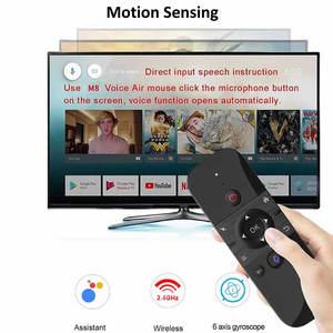 Image 3 - Original W1 PRO mouche Air souris sans fil clavier souris 2.4G rechargeable Mini télécommande pour ordinateur portable intelligent Android TV Box PC