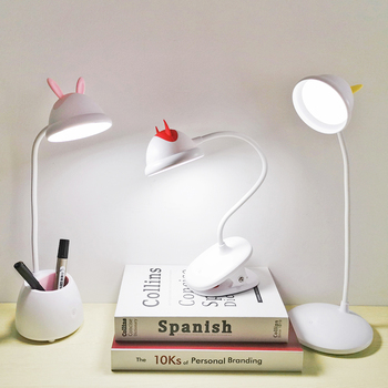 Study Desk Lamp LED Table Lamp USB Rechargeable Desk Lamp Light Table Morden Touch Switch Student Office Work Read Bedside led desk lamp led table lamp iron morden american foldable long arm reading lamp e27 clip office lamp