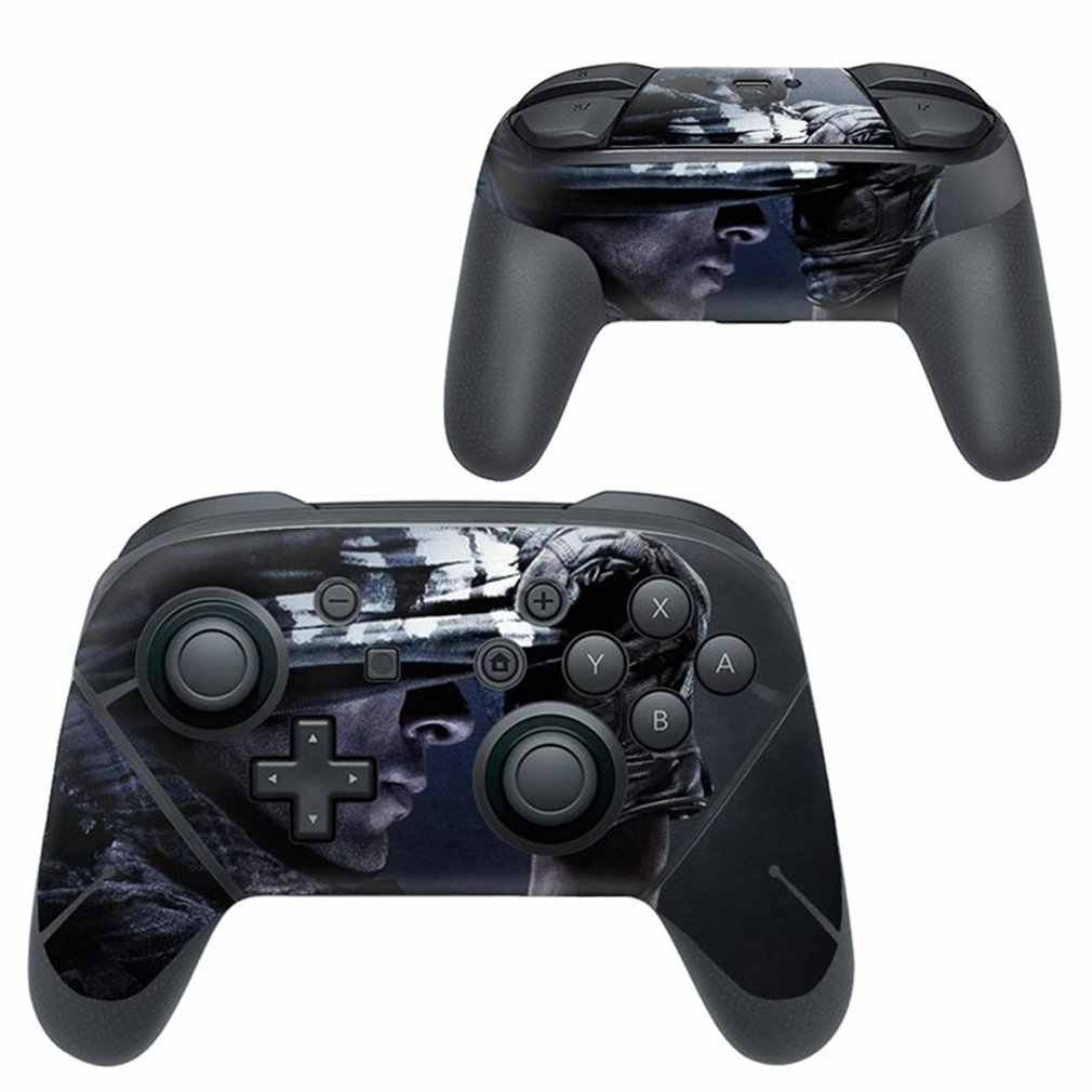 Full Set Faceplate Skin Decal Stickers Protector Wrap Skin Decal for Nintend Switch PRO handle sticker