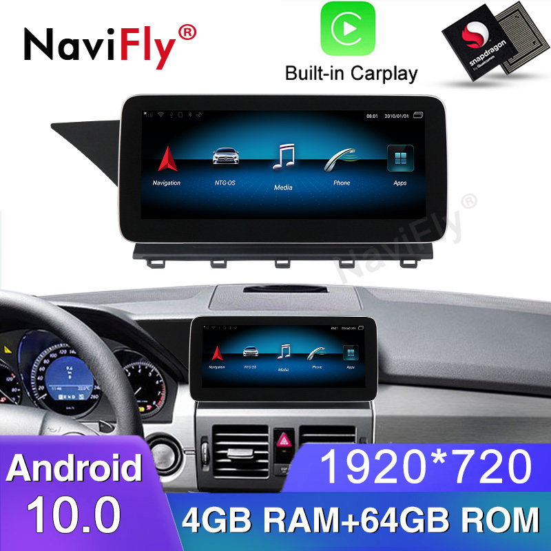 <font><b>Android</b></font> 10.0 Car multimedia player For Benz GLK Class X204 2008-2012 NTG 4.0 with gps <font><b>navigation</b></font> <font><b>10.25</b></font>