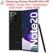 Samsung Galaxy Note20 not 20 Ultra 5G N986U N986U1 6.9