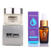 Dimollaure Strong whitening cream + Hyaluronic Acid serum Moisturizing Remove Freckle melas