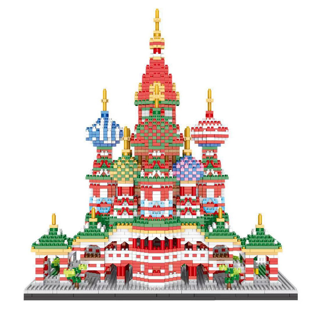 criativo partículas de diamante construção tijolos criança