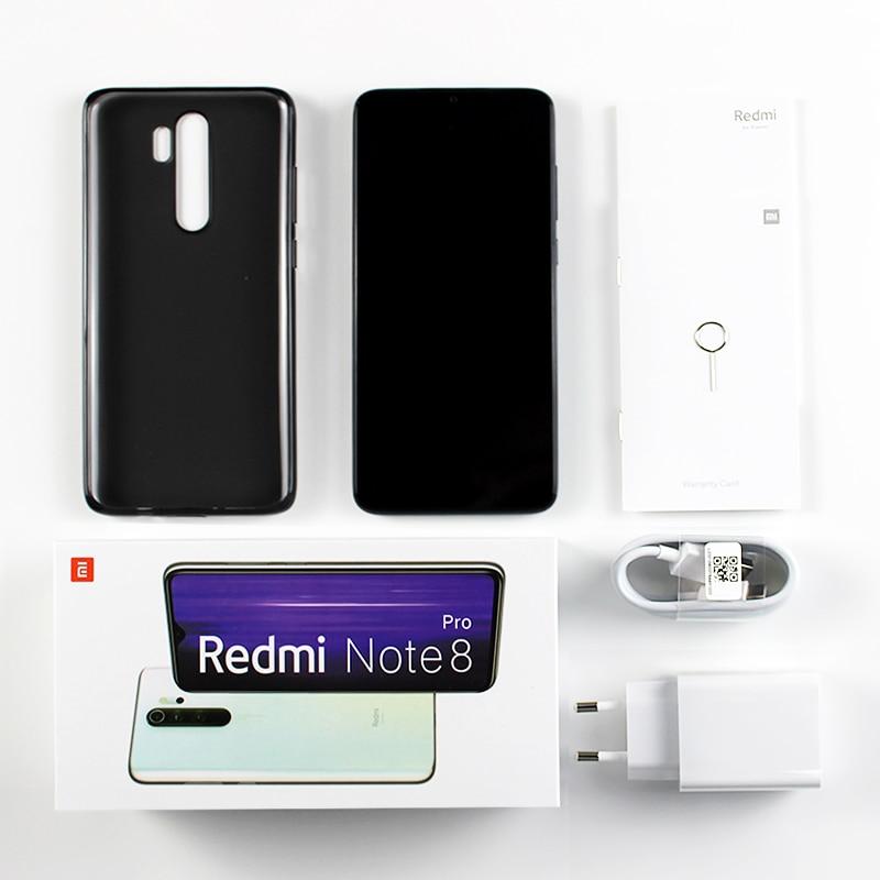 Global Version Xiaomi Redmi Note 8 Pro 6GB 128GB 64GB Smartphone 64MP Quad Camera Helio G90T Octa Core 6.53\