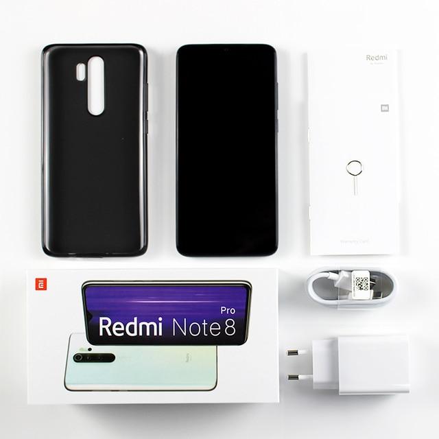 "Global Version Xiaomi Redmi Note 8 Pro 6GB 128GB 64GB Smartphone 64MP Quad Camera Helio G90T Octa Core 6.53"" Screen 4500mAh NFC"