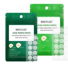 BREYLEE Remendo Espinha Rosto Máscara de Cuidados Da Pele Acne Tratamento Da Acne Soro Acne Creme Para o Rosto Creme de Folha De Essência Máscara Facial Cuidados ferramentas