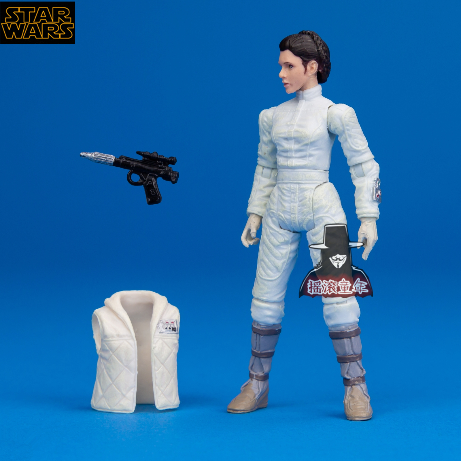 3.75inch Starwars Han Solo Leia Organa Solo Action Figure Collectible Model Toys for children