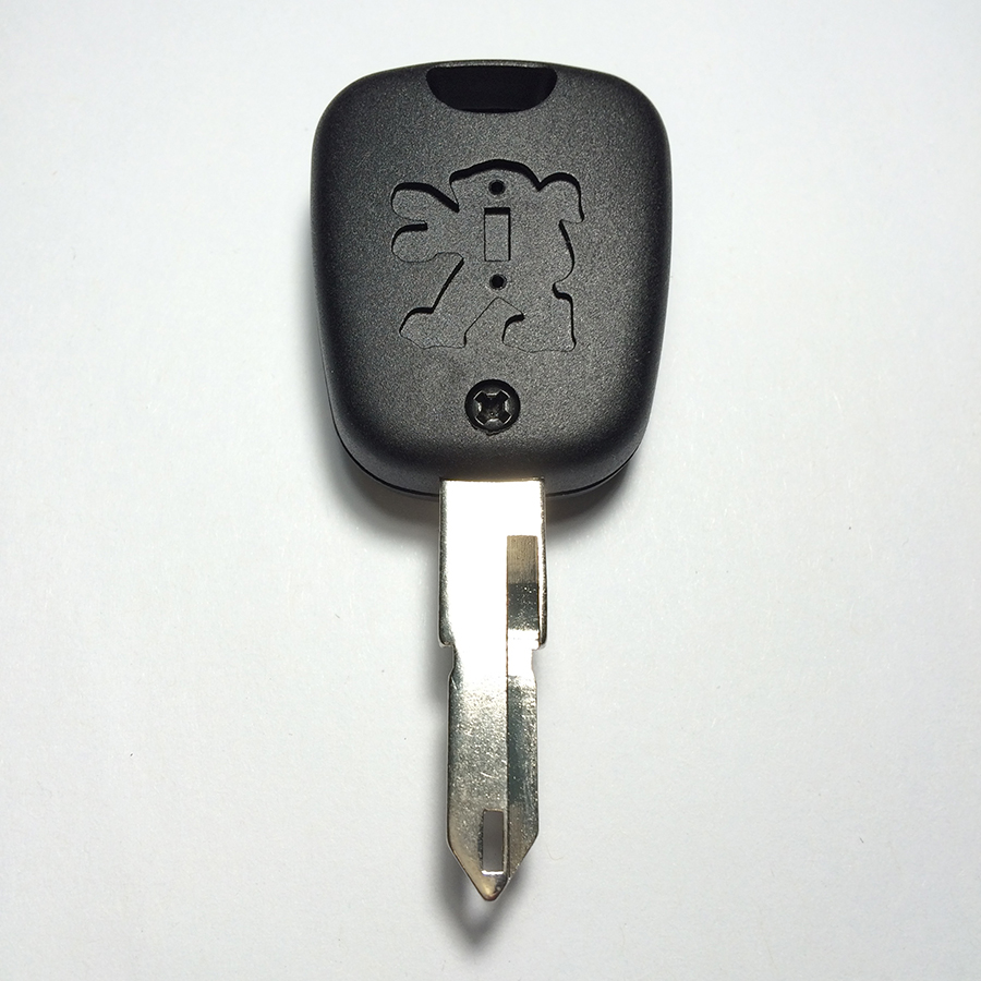 Peugeot 206 Avtomobil açarı qabıqlı Top A + Loqotipli - Avtomobil ehtiyat hissələri - Fotoqrafiya 3