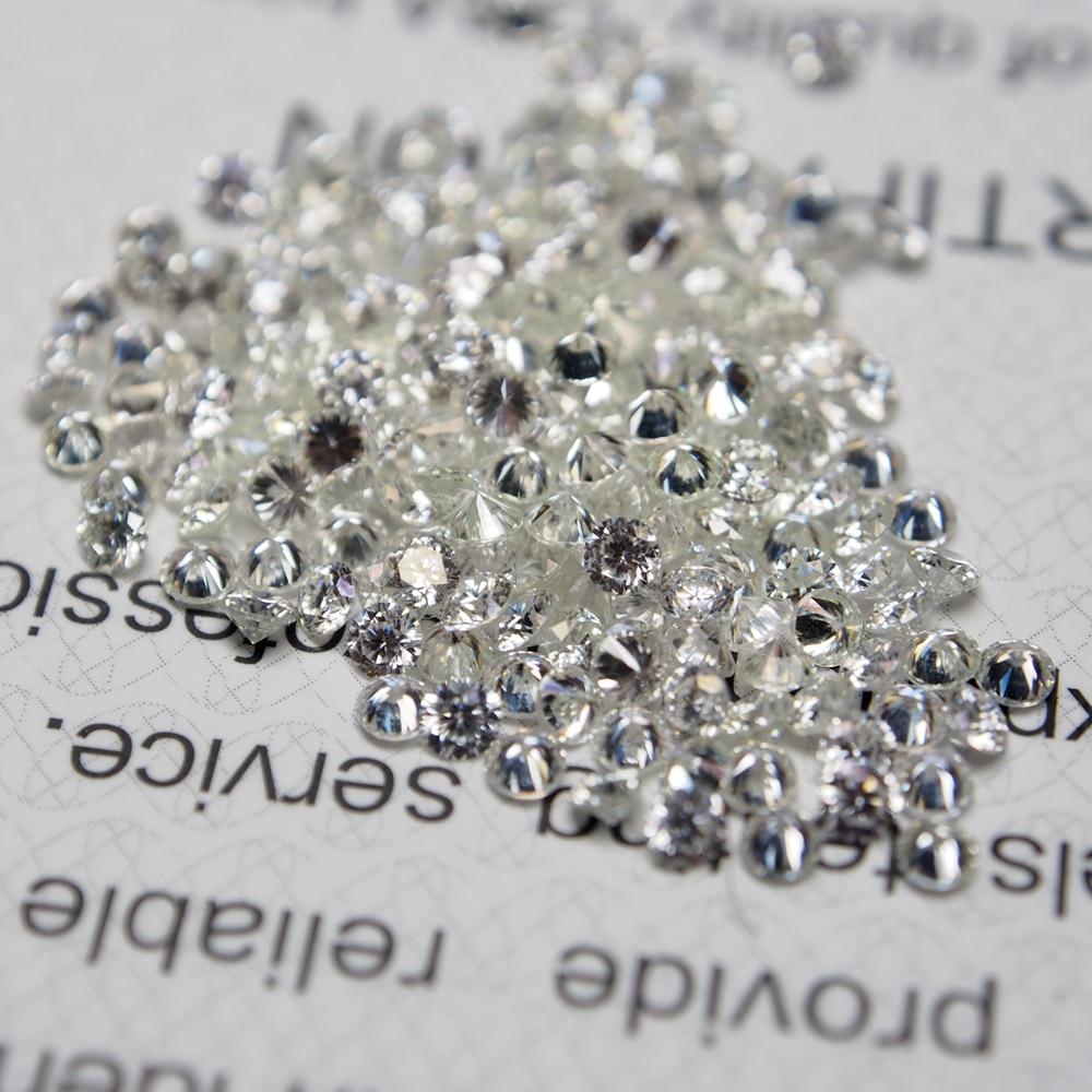 1 Carat /Bag GH color 2.30MM star cut White diamond Moissanite Stone Loose Moissanite Diamond