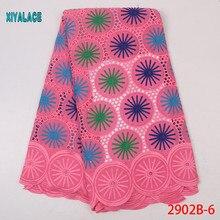 Африканская кружевная ткань последняя Высококачественная кружевная вышивка французская кружевная свадебная ткань кружево для нигерийских вечерние платья YA2902B-6
