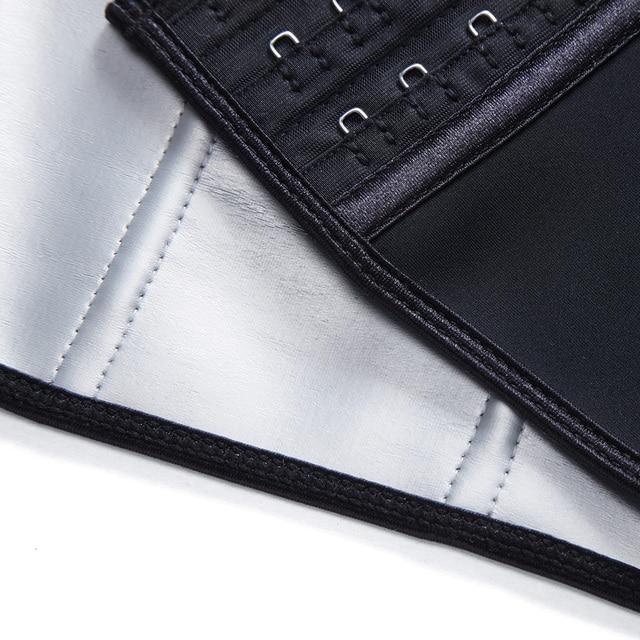 latex waist trainer women's binders and shapers slimming modeling strap corset faja colombian girdles Sweating body shaper belt 5
