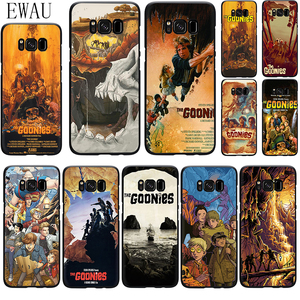 EWAU Goonies Posters Silicone phone case for Samsung S6 S7 Edge S8 S9 S10 Note 8 9 10 plus S10e M10 M20 M30 M40
