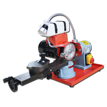 220V Dry Grinding Saw Blade Gear Grinding Machine Alloy Woodworking Water Mill Sharpening Machine Gear Grinding Tools With Lamp grinding machine belt makita 9911