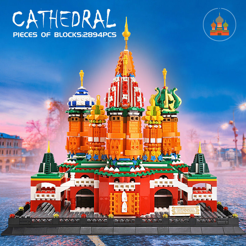 Yeshin 0961 The Saint Basil's Cathedral Model