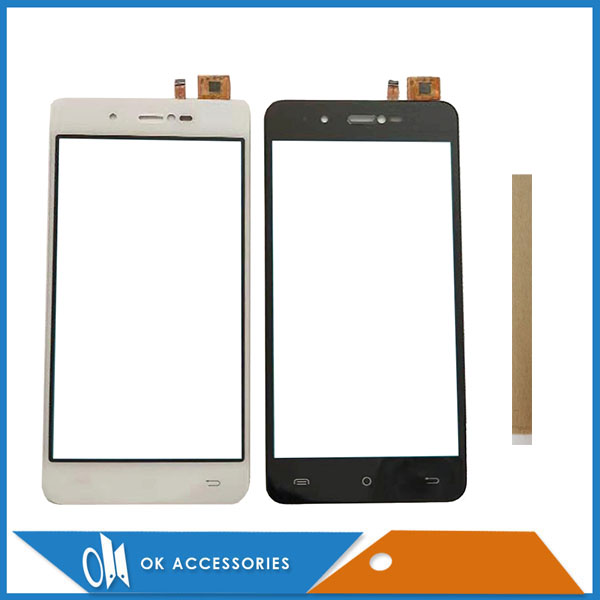 5.0 Inch For BQ Mobile BQ-5007L Iron BQ5007L BQ 5007L Touch Screen Digitizer Glass Touchscreen White Black Color With Tape