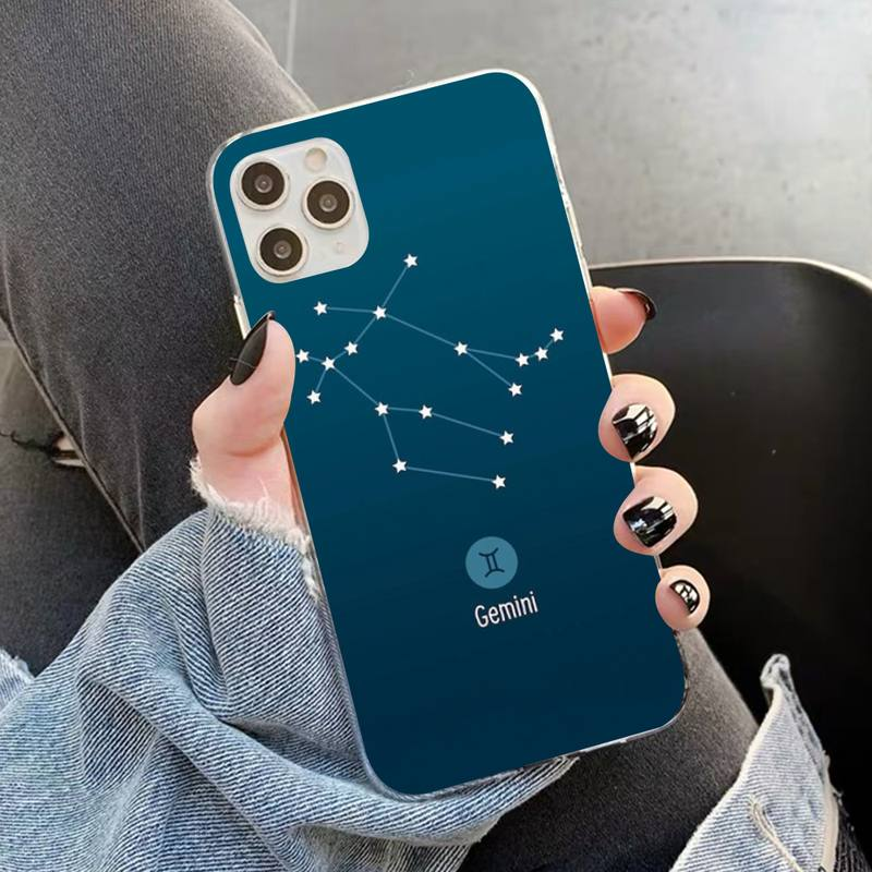 12 Constellations Zodiac Signs Phone Case for iPhone 12 Mini
