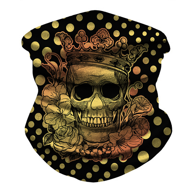 Skull Bandana Face Mask  6