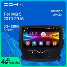 COHOสำหรับMg 5 Mg5 2010 2015 Android 10.0 Octa Core 6 + 128G Gpsนำทางวิทยุรถเครื่องเล่นมัลติมีเดีย
