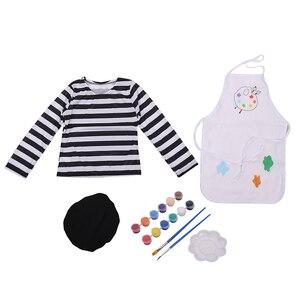 Image 4 - 子の才能のあるアーティストプロ服画家ファンシードレスハロウィンコスプレカーニバル衣装