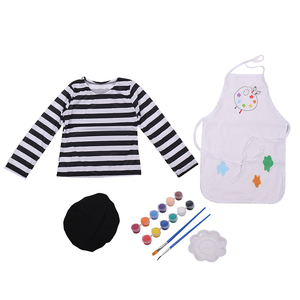 Image 4 - Child Little Girls Talented Artist Professional Clothing Painter Fancy Dress Halloween Cosplay Carnival Costume