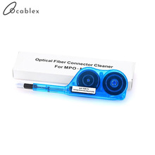 Free Shipping Fiber Optic Cleaner one click cleaner optical fiber cleaning pen for MPO
