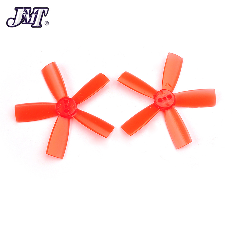 2 pairs <font><b>2035</b></font> <font><b>Propeller</b></font> 2 inch 50.8mm PC Props 5-Paddle CW CCW paddle 1.5mm hole For indoor brushless FPV Racing Drone Quadcopter image