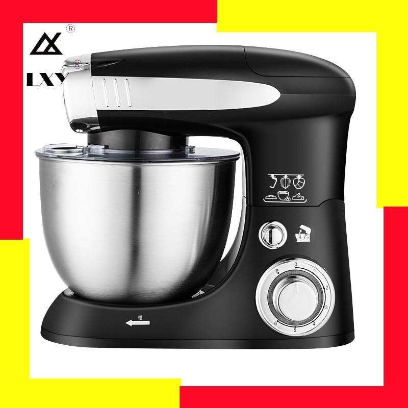6 vitesse pâte mélangeur à main batteur à oeufs mélangeur alimentaire multifonction robot culinaire Ultra puissance électrique mélangeur de cuisine|Mixeurs|   -