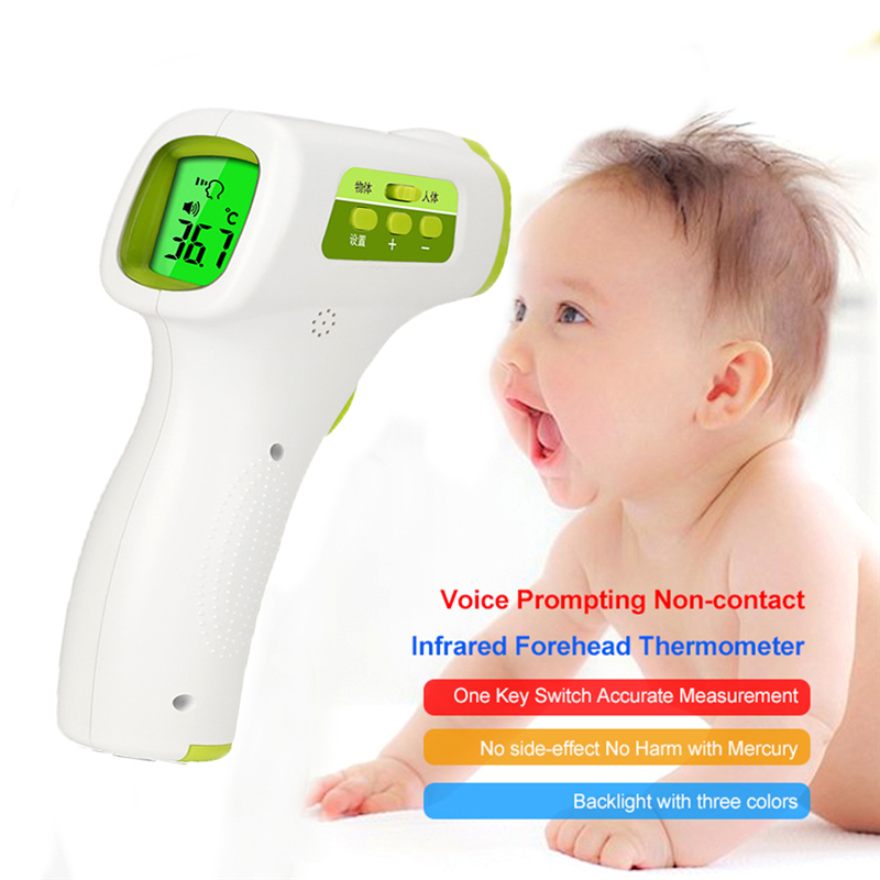 Infrared Thermometer Digital Body Temperature Fever Measurement Forehead Non-Contact Infrared LCD IR termometro Adult Baby Care