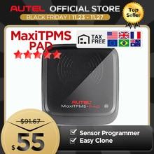 AutelAutel MaxiTPMS Miếng Lót Chẩn Đoán Công Cụ Áp Suất Lốp Lập Trình Màn Hình Autel MX Cảm Biến Lập Trình Viên TPMS Dụng Cụ Autel Cảm Biến
