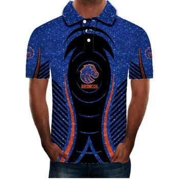 2020 nuevo polo para hombre Polo 3D... camisa deportiva de talla grande...
