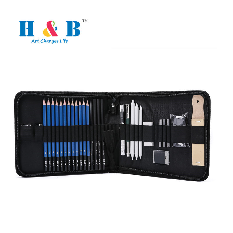 32pcs Painting Brush Suits Sketch Toolkit Art Stationery Supplies painting supplies paintbrushes art supplies for painting