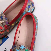 kids star print shoes girls shoes