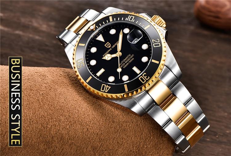 Hd748de47998d456d98b8914a4ca5d333G PAGANI Design Brand Luxury Men Watches Automatic Black Watch Men Stainless Steel Waterproof Business Sport Mechanical Wristwatch