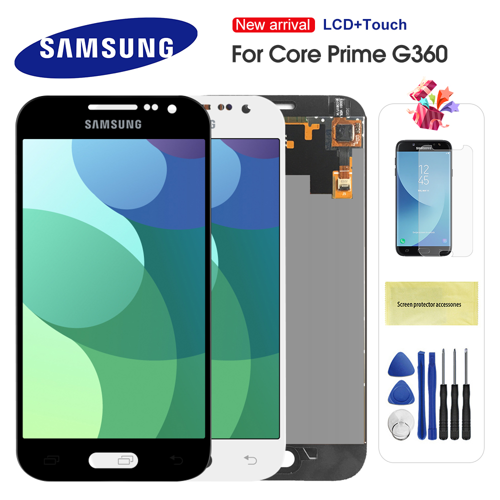 For Samsung Galaxy Core Prime G361 G361H G361F Touch Screen Digitizer Assembly Replacement For G361 G360 Display Screen