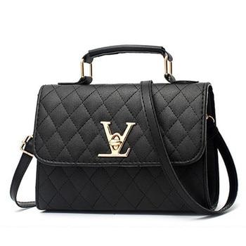 Luxury Handbags Women Bags Leather Crossbody for 2020 Fashion Travel Shoulder Bag