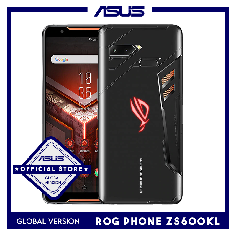 Global Version ASUS ROG Phone ZS600KL Smartphone 8GB 128/512 GB Snapdragon 845  Adreno 630 NFC OTA Update Gaming Phone image