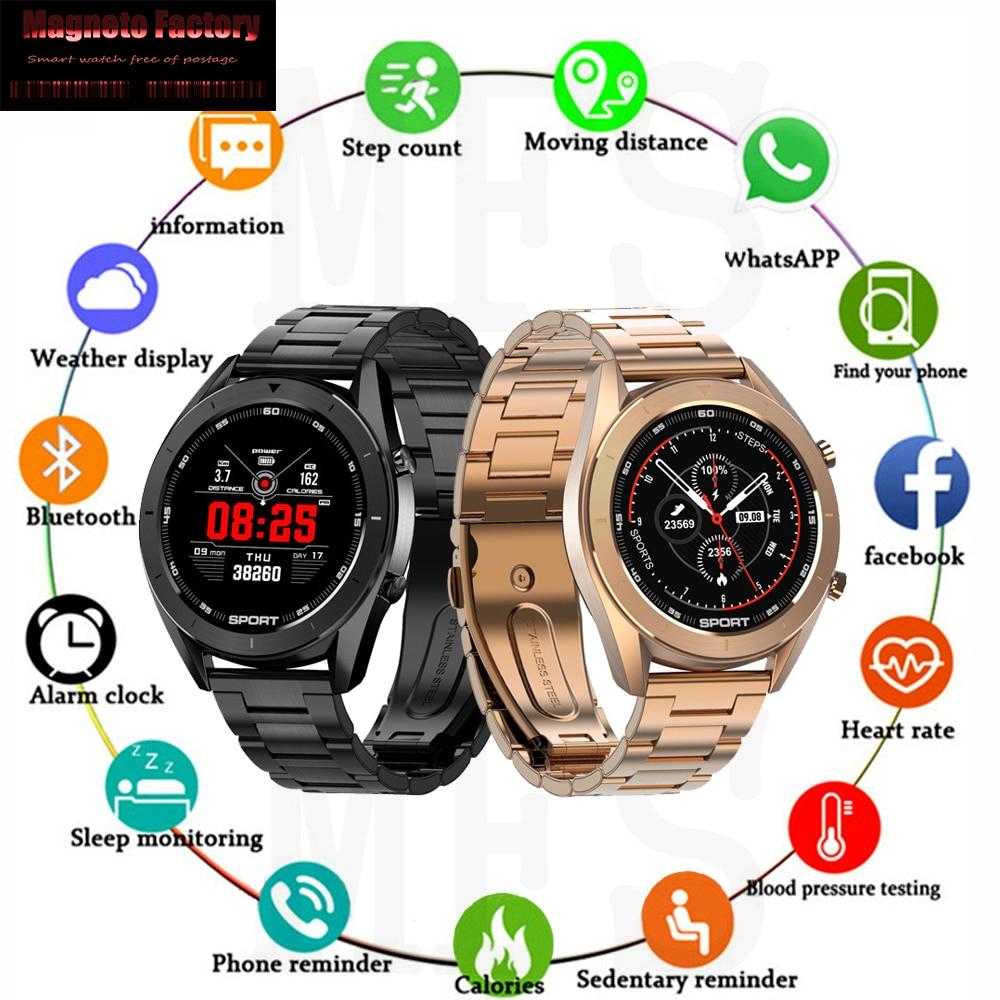 MFS DT99 Smart Watch IP68 Waterproof Round Women Men  ECG Detection Changeable Dials Smartwatch Fitness Tracker Men Apple Watch
