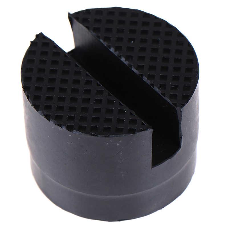 1 Pza adaptador Universal de gato para coche marco ranurado plataforma de goma soporte de suelo de riel herramientas relacionadas con la reparación de automóviles accesorios para el coche