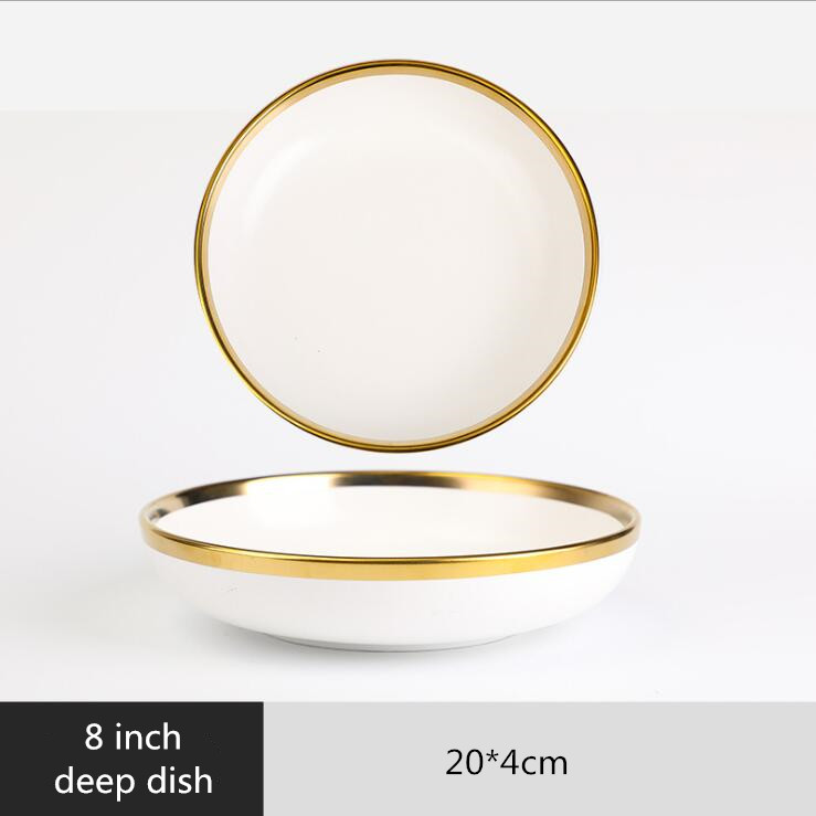 8 inch deep dish