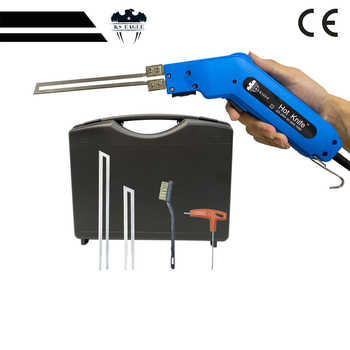 Hot Knife Foam Cutting Tools Fabric Cutting 150 W Hot Knife Heat Knife Cutter 2 pcs Blade Kit Hot Knife Set 110V/220V - DISCOUNT ITEM  55 OFF Tools