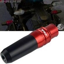 For YAMAHA YZF R6/R3/R25 YZFR6 YZFR3 YZFR25 YZF R3 R6 R25 Motorcycle CNC Frame Exhaust Sliders Crash Protector Pads YZF logo