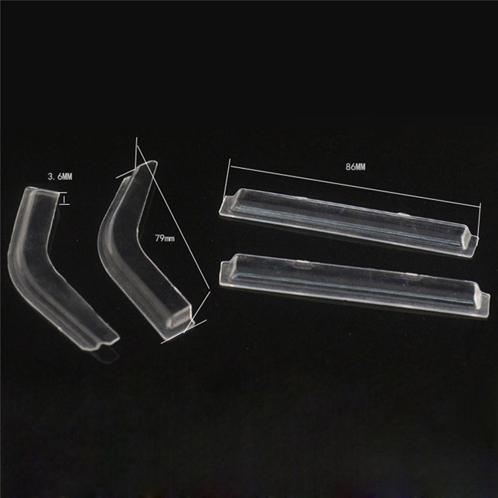 1set Window Sun Visor Wind Rain Shield Deflector For 1/10 LC80 RC Crawler Land Cruiser Upgrade Parts