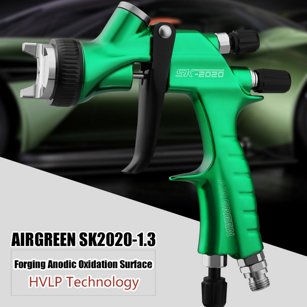 Professional Car Paint Spray Gun Kit 1.3mm Forged Gun Body High Atomization Design Water Based Spray Gun With 600cc Cup