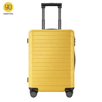 NINETYGO 90FUN Carry On Luggage 20 inch 4-wheel spinner Lightweight Hardshell PC Suitcase with TSA Lock for Travel Business - DISCOUNT ITEM  50 OFF Luggage & Bags