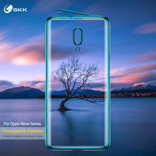 GKK 2 in 1 Case for OPPO Reno 10X Zoom Protection Transparency Plating Shockproof  Matte Cover