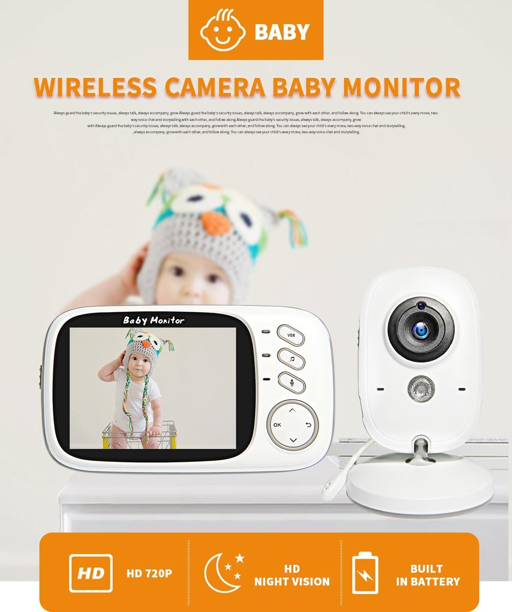 Monitores de bebê