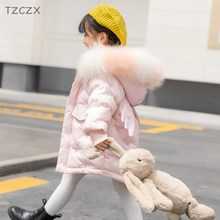 Coats Down-Jackets Angel Baby-Wear White-Duck-Down Girl Winter Children's New-Fashion