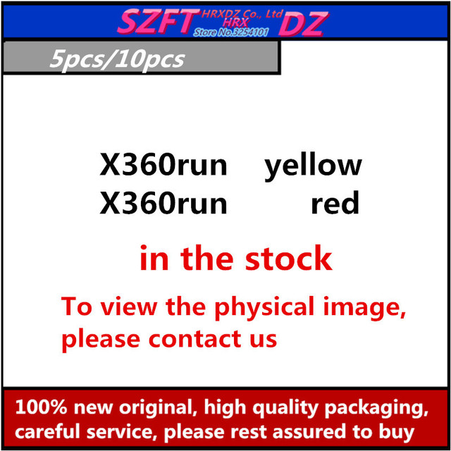 SZFTHRXDZ 5 pièces 10 pièces X360run pour x360 slim (trinité et couronne) avec 96 MHz