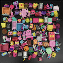 Miniature Shops Actions Figures Family Fruit Dolls Shopping Kids Christmas Gift most Popular DIY model toys