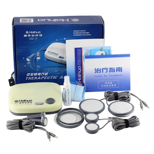 Haihua CD 9 серийный быстродействующий терапевтический аппарат. Электрическая Стимуляция акупунктурное терапевтическое устройство Массажная машина